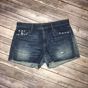 Gap distressed shorts